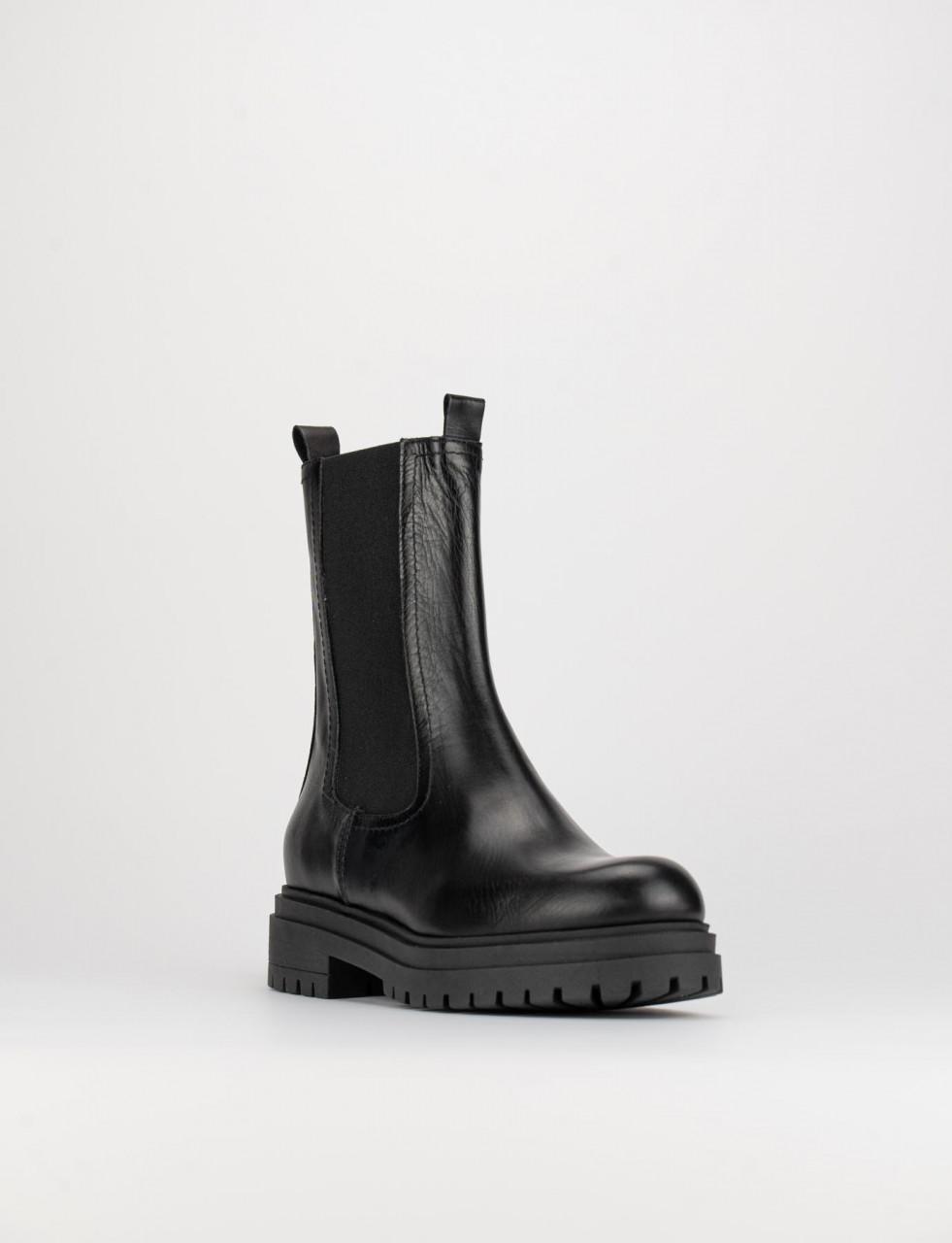 Stivali donna caviglia elastici camoscio tacco basso gattino tronchetti VB85085
