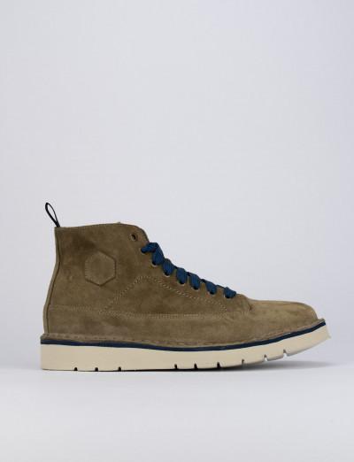 Sneakers camoscio beige