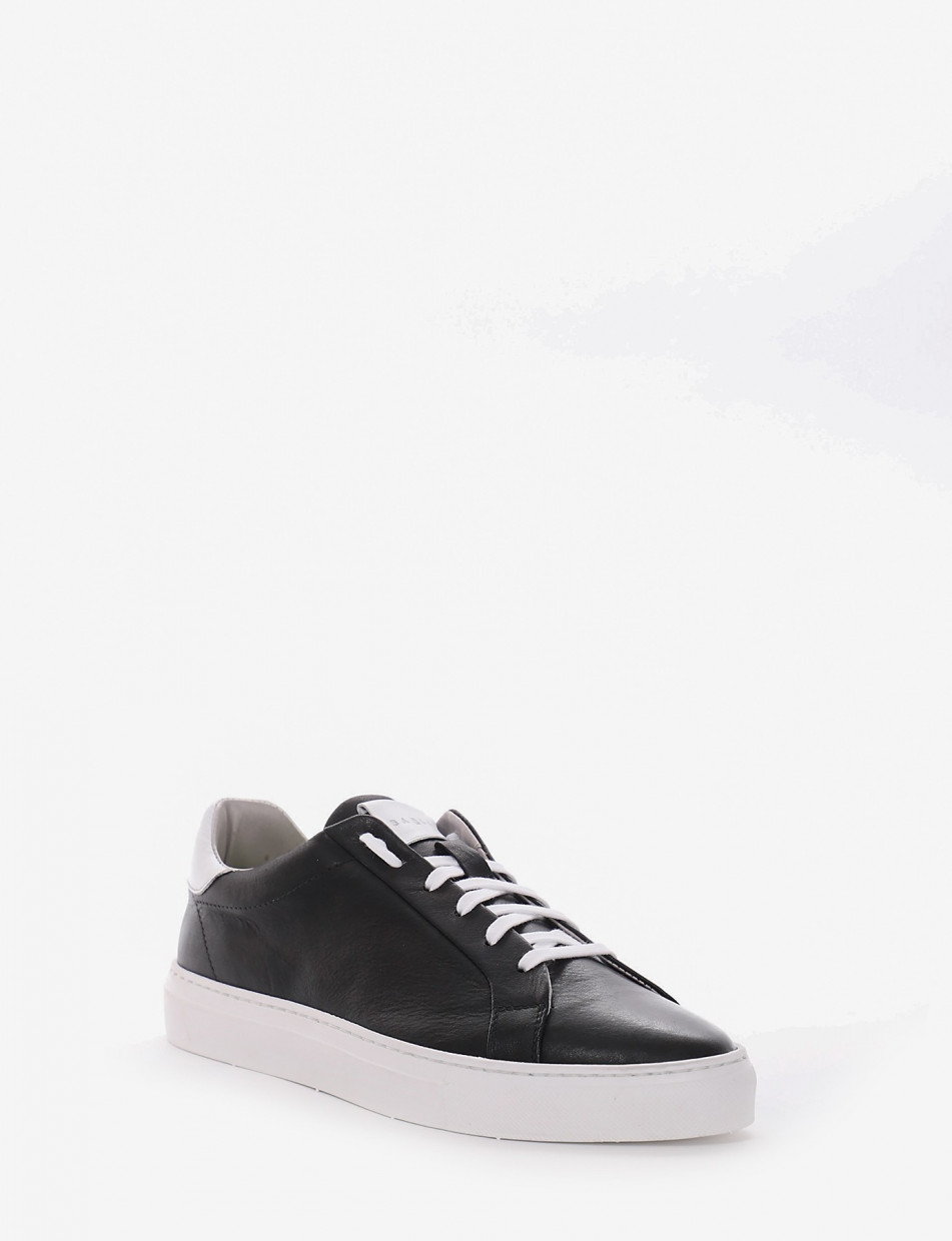 Sneakers black leather