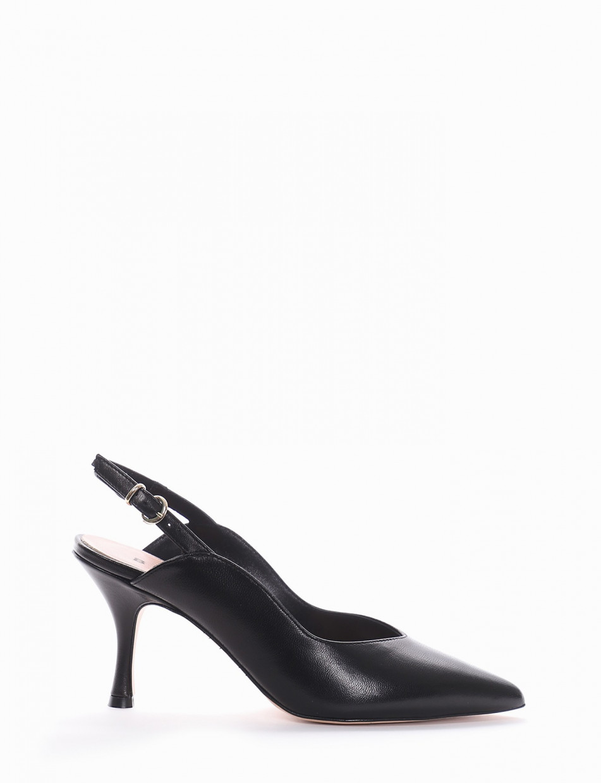 Chanel tacco 6 cm nero