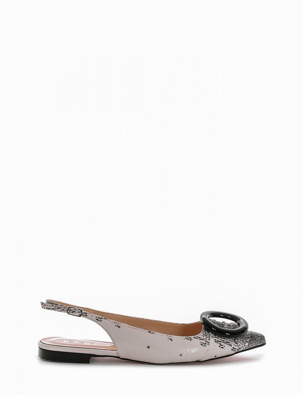Ballerina chanel tacco 1cm roccia