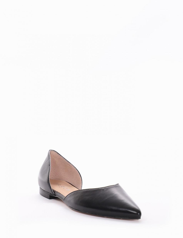 Ballerina tacco 1cm nero