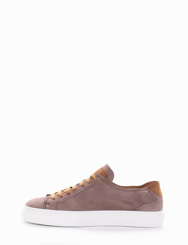 Sneakers beige chamois