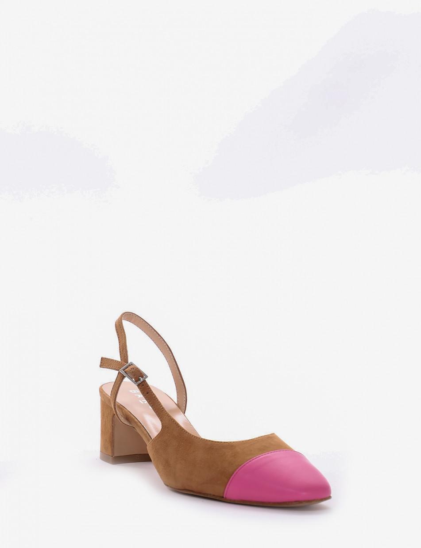 Chanel tacco 5 cm cuoio