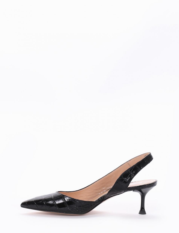 Chanel tacco 5cm nero