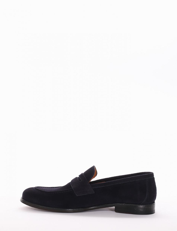 Loafers blu chamois