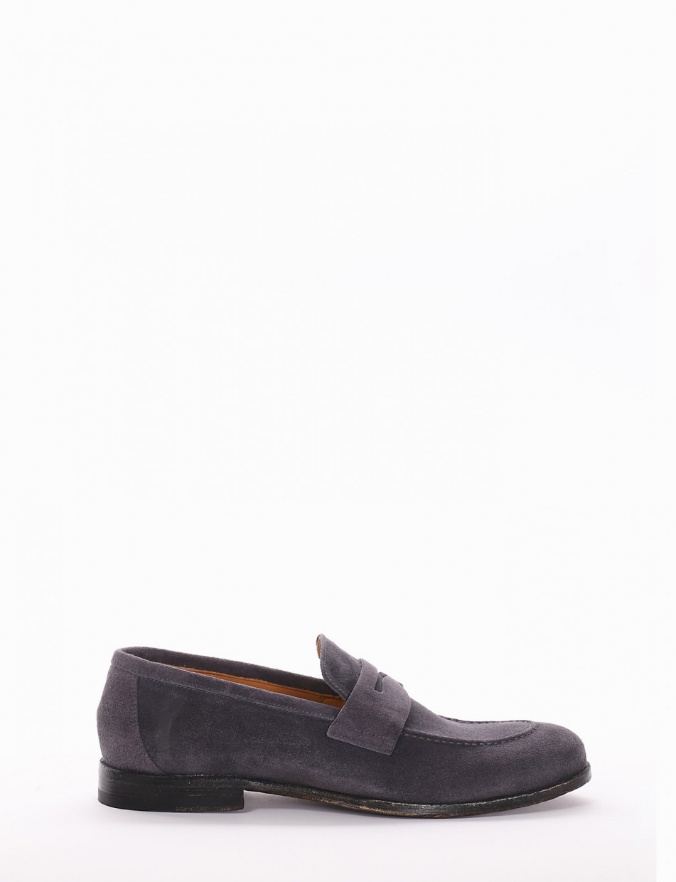Loafers jeans chamois
