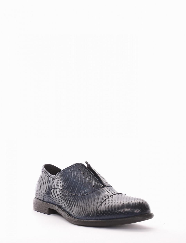 scarpa no lace tacco 2 cm blu
