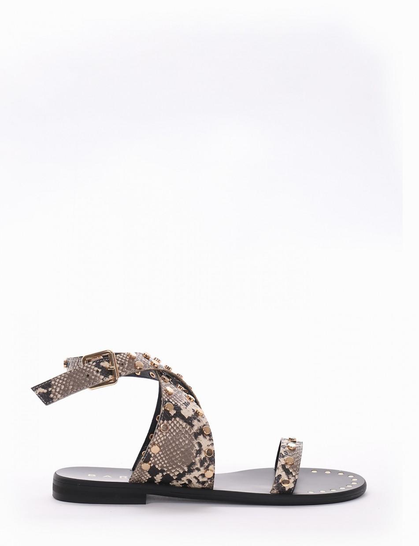 Sandalo tacco 2 cm roccia