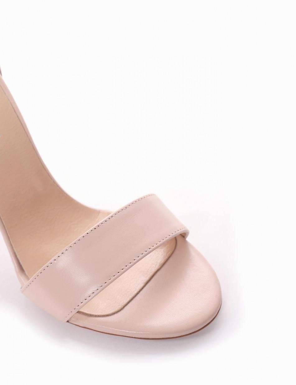 Sandalo tacco 10 cm rosa