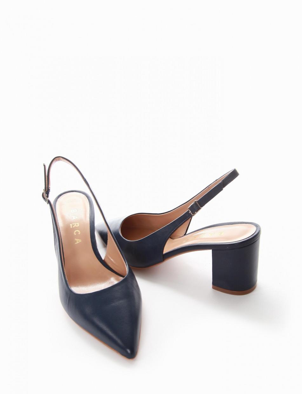 Chanel tacco 7cm blu