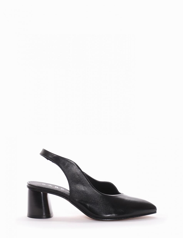 Chanel tacco 5 cm nero