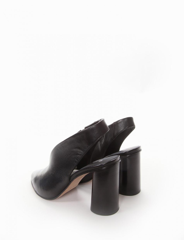 Chanel tacco 9 cm nero