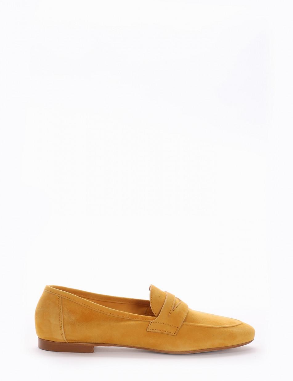Loafers yellow chamois