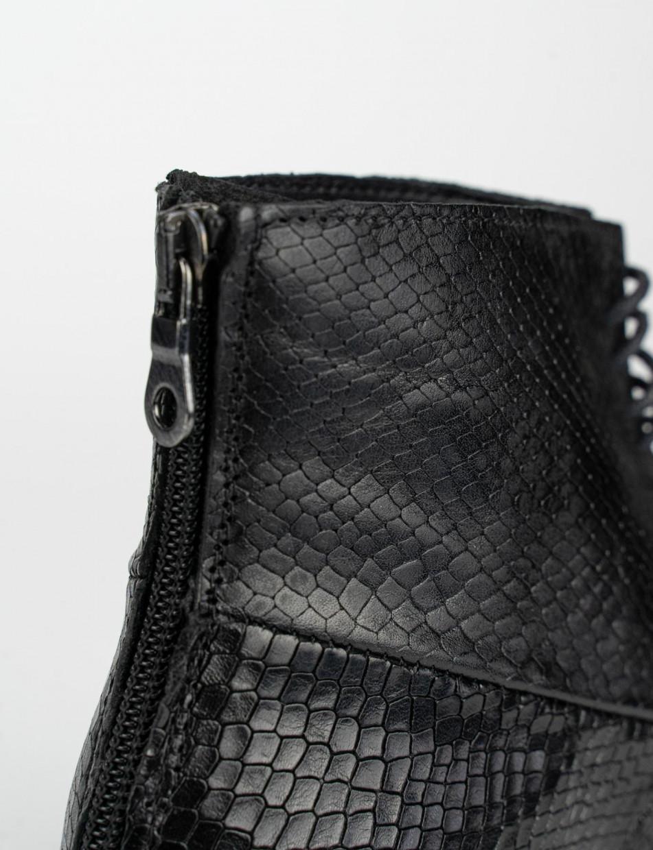 anfibio tacco 2 cm nero