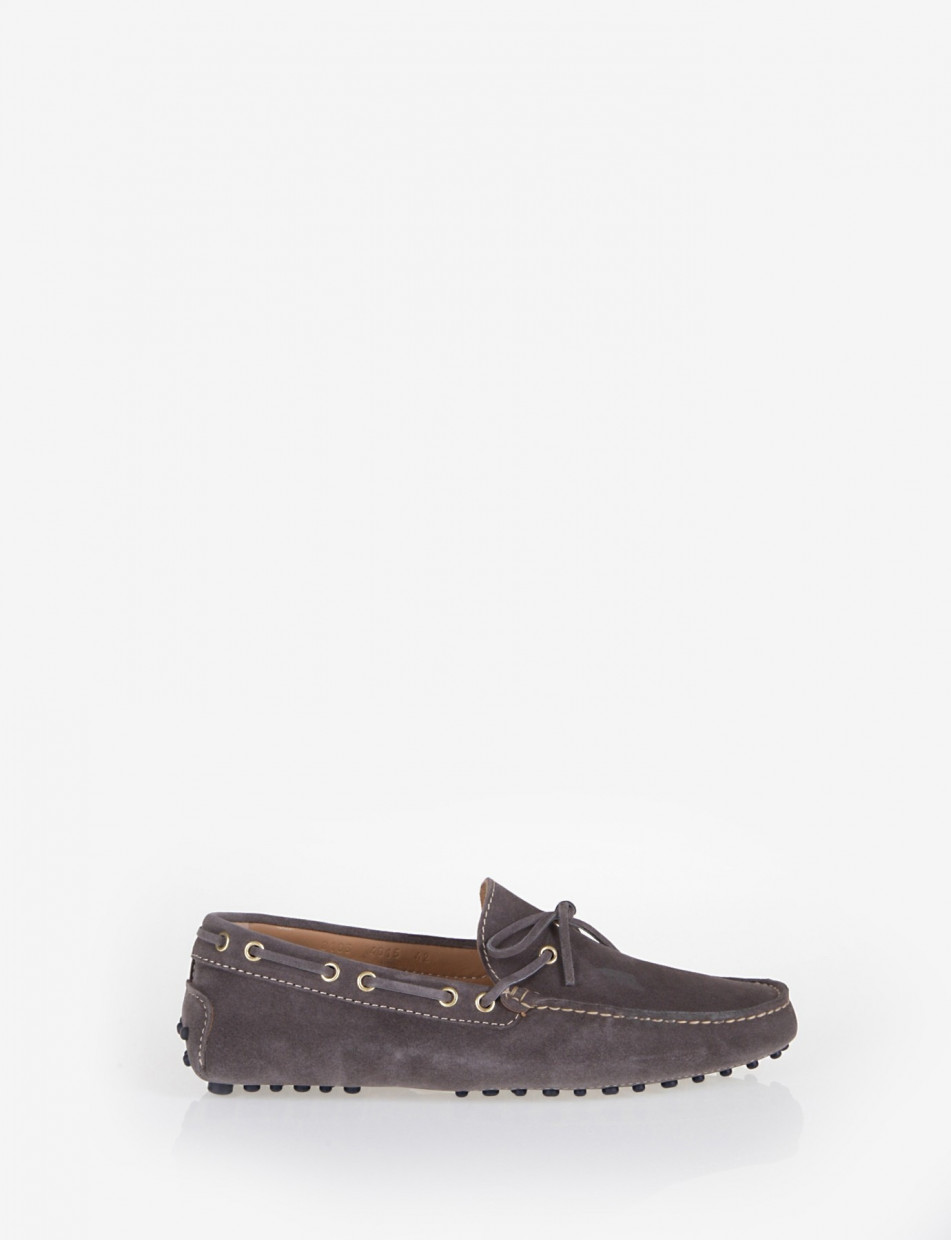 Loafers grey chamois