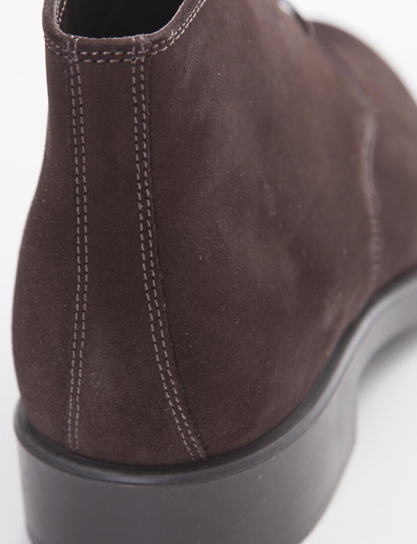 Desert boots dark brown chamois