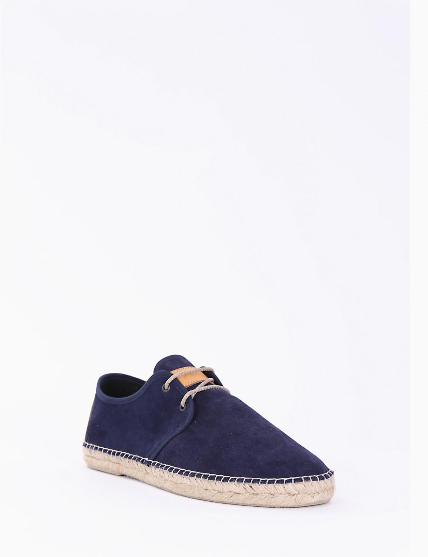 Sneakers blu chamois
