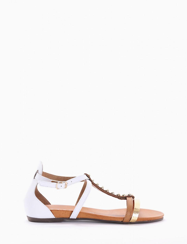 Sandalo tacco 10 bianco