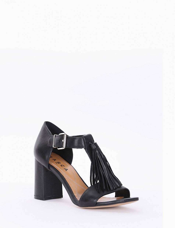 Sandalo tacco 70 nero