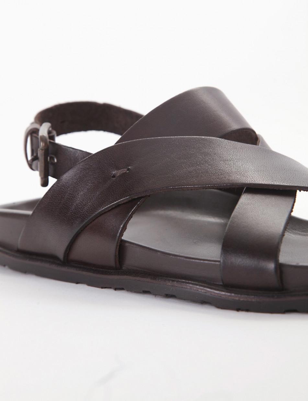 Sandalo zeppa 20 testa