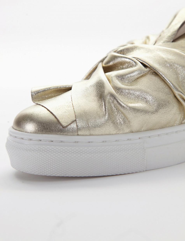 Sneakers platinum laminated