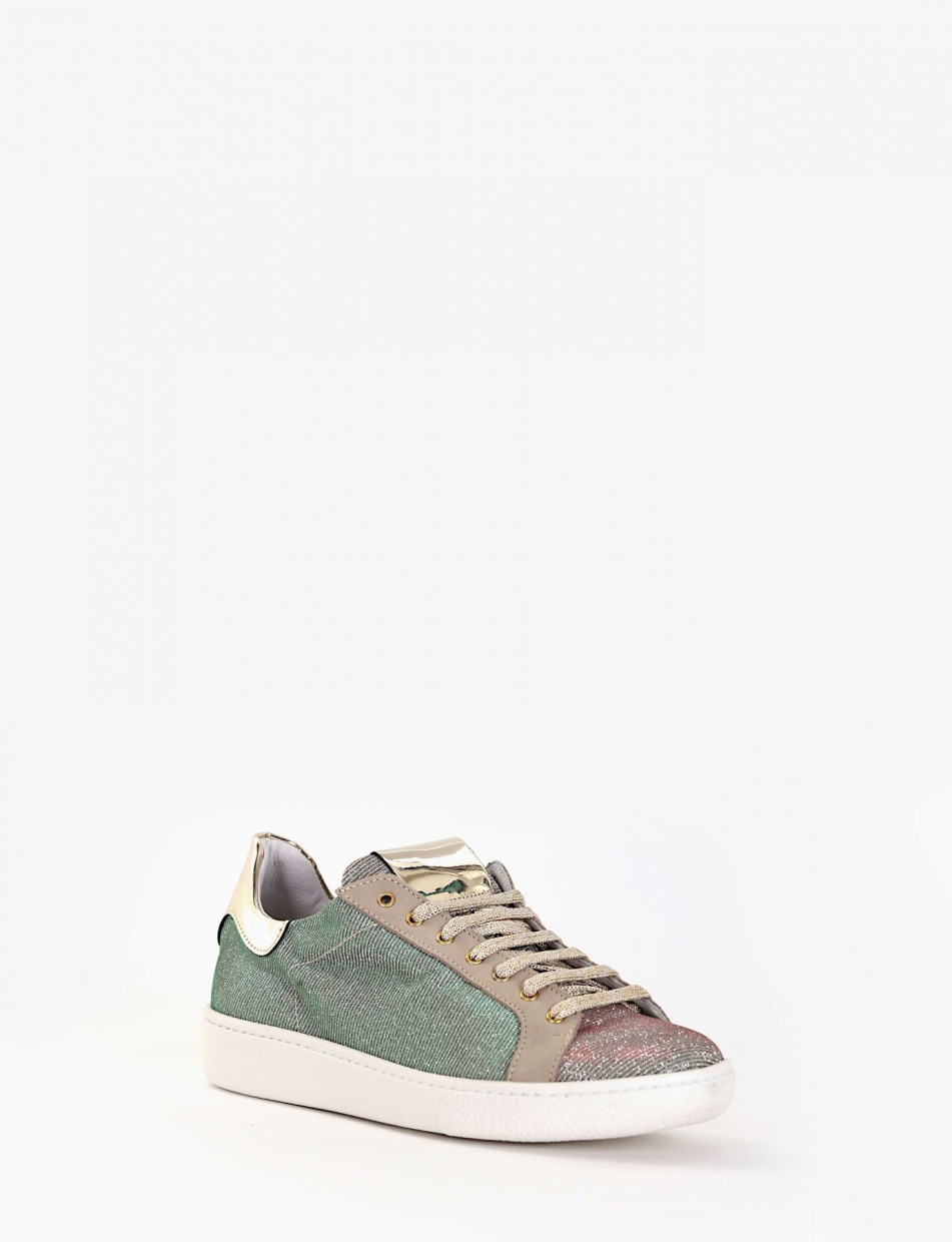 Sneakers beige canvas