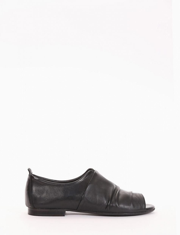 Scarpa spuntata tacco 1cm nero