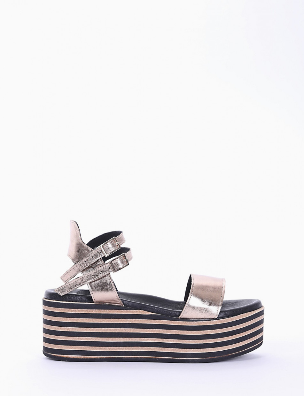 Wedge heels copper laminated
