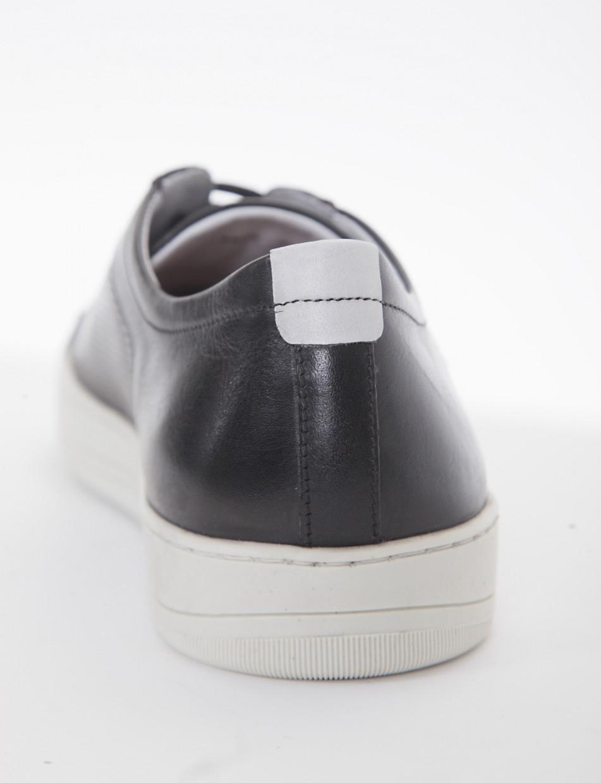 Sneakers heel 0 cm black leather