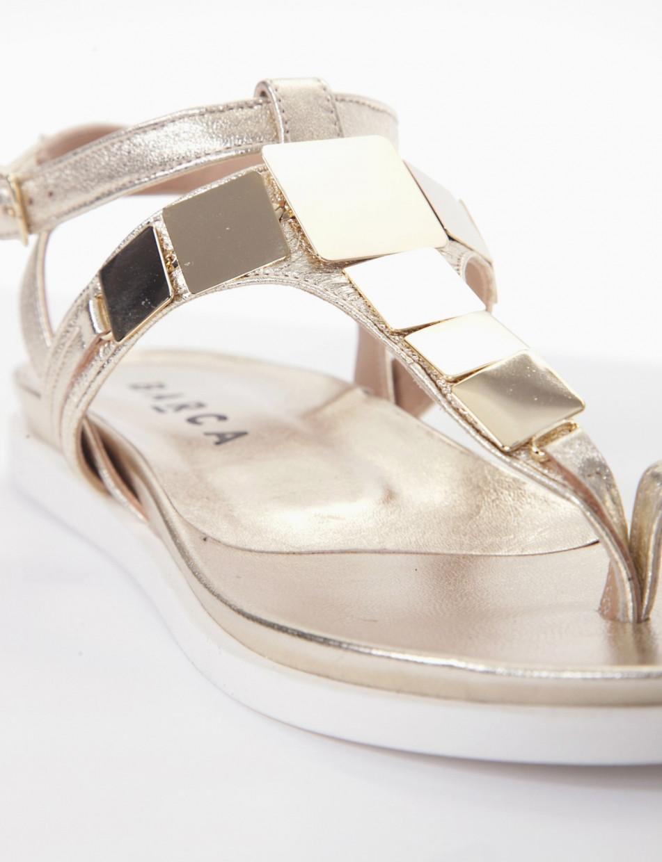 Placchette metallo oro