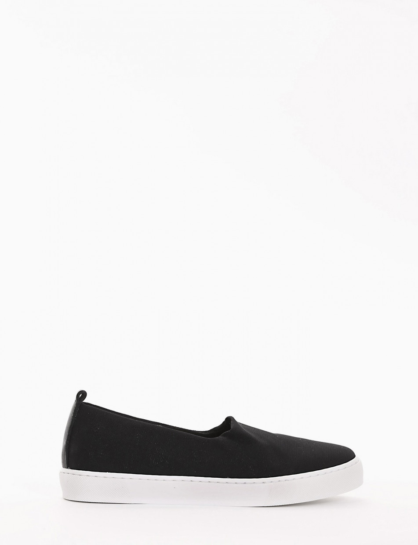 Sneakers black tissue