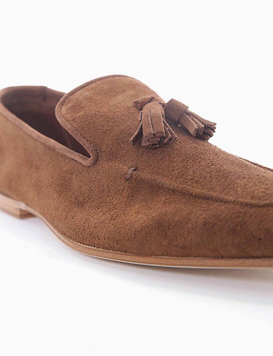 Loafers brown chamois