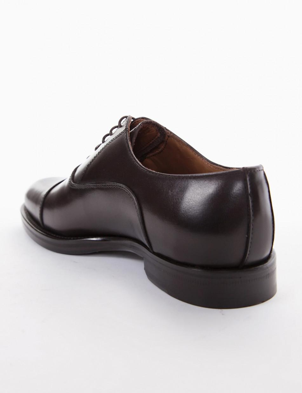 scarpa lacci tacco 2 cm testa