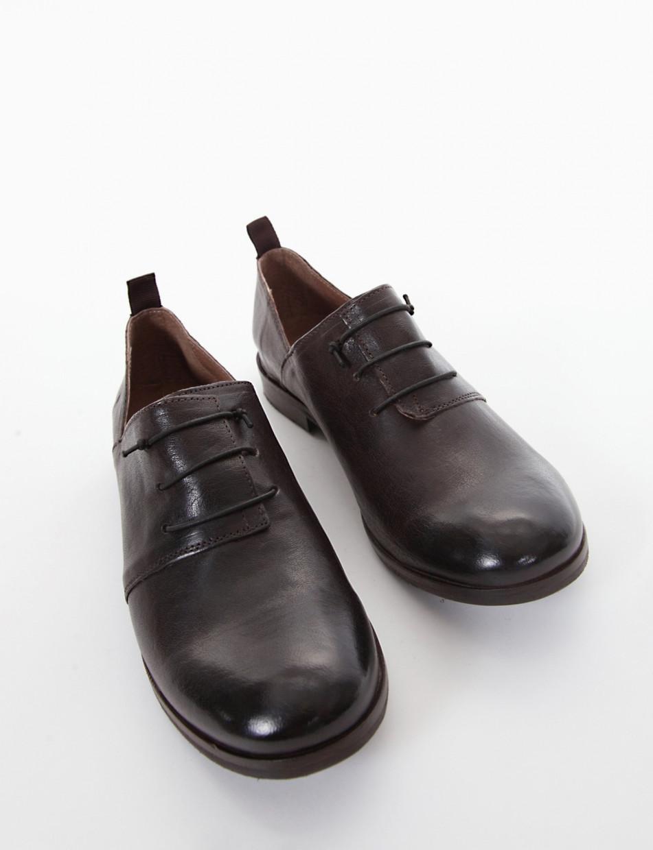 scarpa no lace tacco 1 cm tortora   Barca Stores