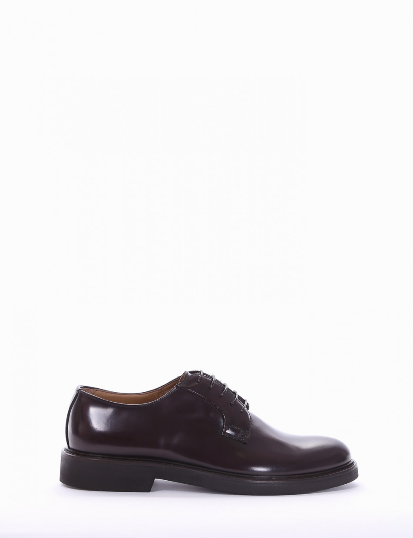 scarpa lacci tacco 2 cm bordo'